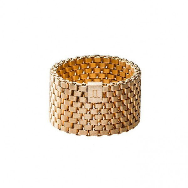 Jasmina Jovy Decode Ring Gold