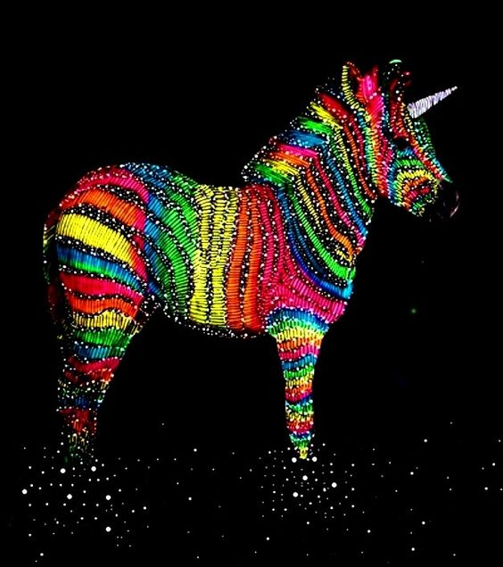 Pop Art Zebracorn