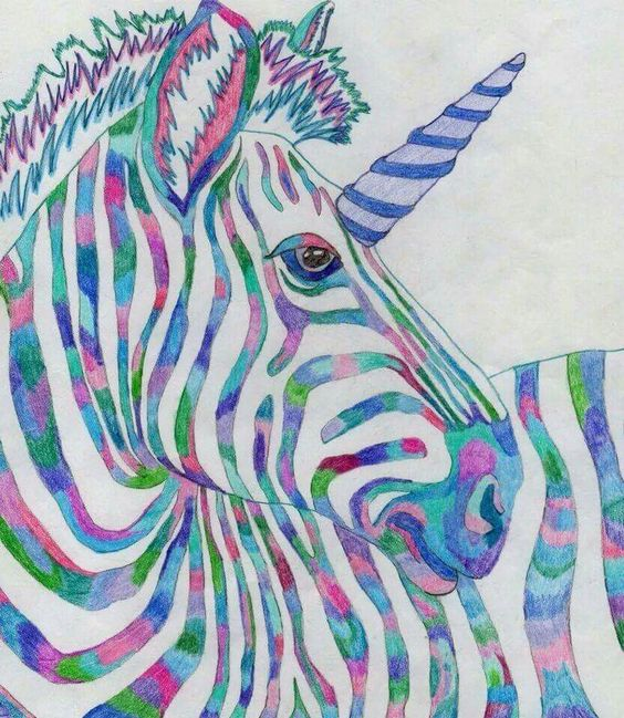 Zebracorn Multicoloured